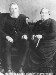 Henry & Sarah Haverstock WM